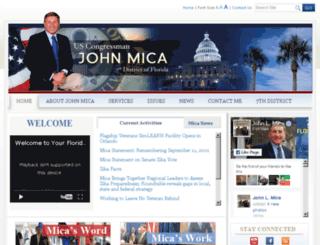 mica.house.gov screenshot