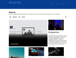micah68.ca screenshot