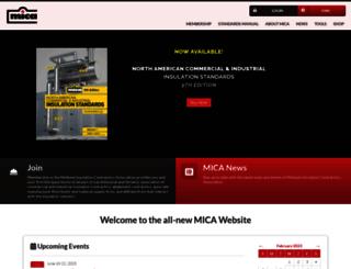 micainsulation.org screenshot