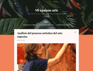 micampusarte.blogspot.com.es screenshot
