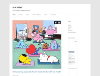 micamyx.com screenshot