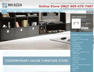 micazza.net screenshot