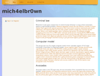 mich4elbr0wn.webs.com screenshot