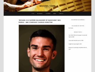 michael-cobb.com screenshot