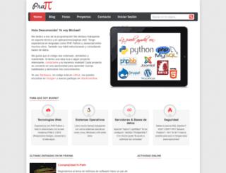 michael-pratt.com screenshot