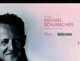 michael-schumacher.de screenshot