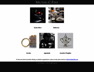 michaelcfina.com screenshot