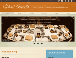 michaelchiarello.com screenshot