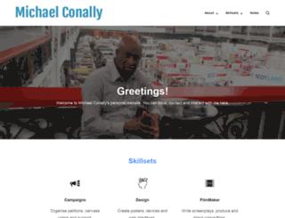 michaelconally.co.uk screenshot