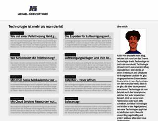 michaeljonessoftware.com screenshot