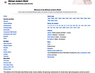 michaeljordansworld.com screenshot
