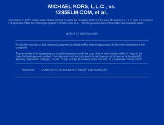 michaelkorsclub.com screenshot