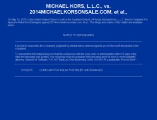 michaelkorsoutletonline.mobi screenshot