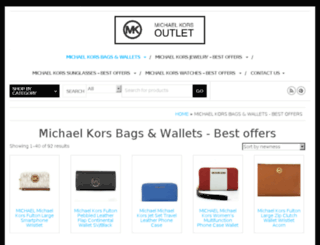 michaelkorsoutletonlinestores.com screenshot