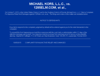 michaelkorspromote.com screenshot