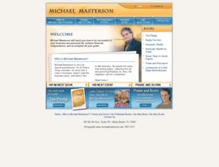 michaelmasterson.net screenshot