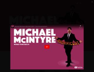 michaelmcintyre.co.uk screenshot