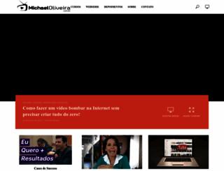 michaeloliveira.com.br screenshot