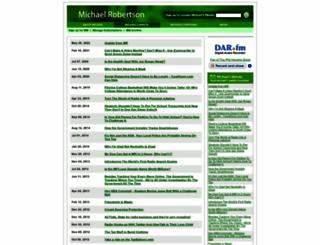 michaelrobertson.com screenshot