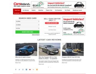michaelrockmotors.ie screenshot