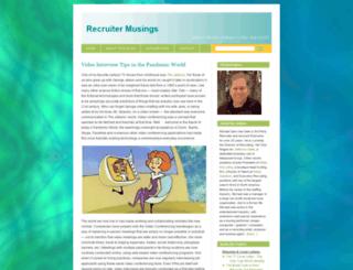 michaelspiro.wordpress.com screenshot