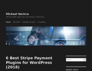 michaelvacirca.com screenshot