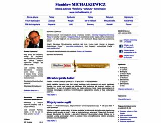 michalkiewicz.pl screenshot