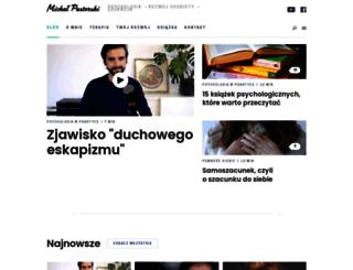michalpasterski.pl screenshot