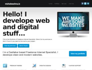 michalwochna.ie screenshot
