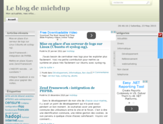 michdup.fr screenshot