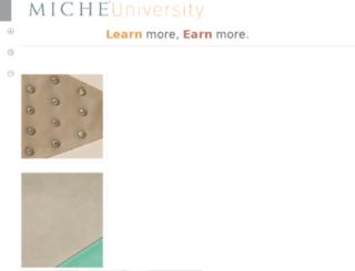 miche-university.com screenshot
