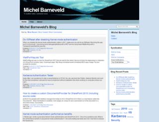 michelbarneveld.nl screenshot