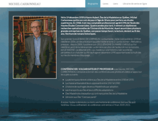 michelcarbonneau.info screenshot