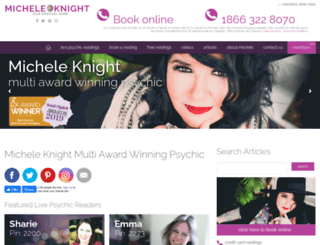 micheleknight.co.uk screenshot