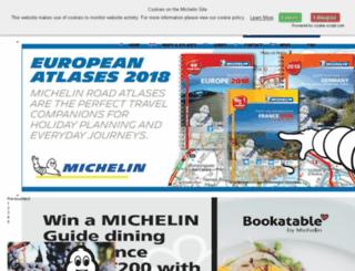 michelinonline.co.uk screenshot