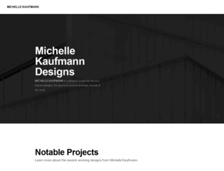 michellekaufmann.com screenshot