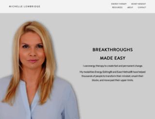 michellelowbridge.com screenshot