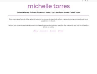 michelletorres.mx screenshot