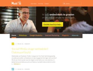 micheltel.nl screenshot