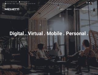 michetti.com screenshot