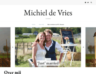 michieldevries.nl screenshot