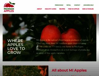 michiganapples.com screenshot