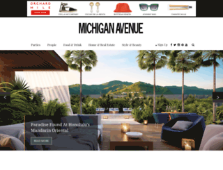 michiganavemag.com screenshot