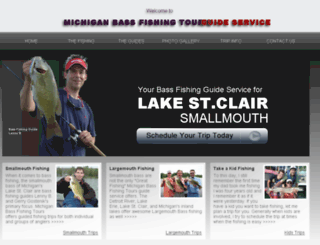 michiganbassfishingtours.com screenshot