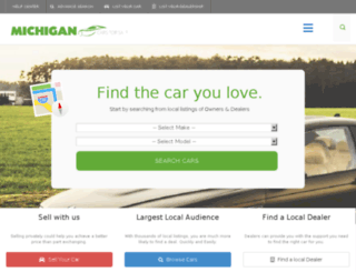 michigancarsforsale.com screenshot
