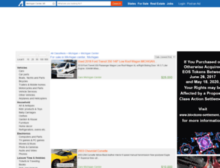 michigancenter.americanlisted.com screenshot