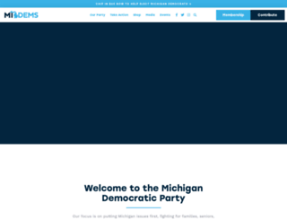 michigandems.com screenshot