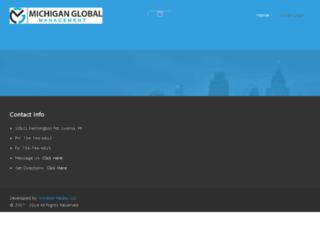 michiganglobal.com screenshot