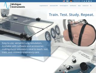 michiganinstruments.com screenshot