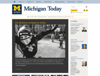 michigantoday.umich.edu screenshot